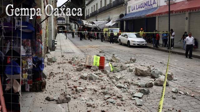 Gempa Oaxaca