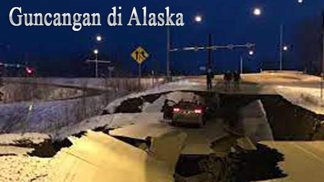 Guncangan di Alaska
